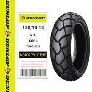 Lốp Dunlop 120/70-12 D604F