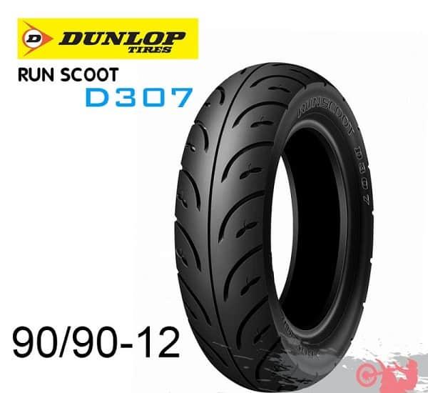 Lốp Dunlop 90/90-12 D307