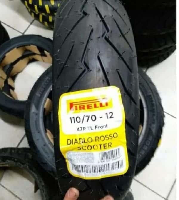 Hình ảnh lốp xe của thương hiệu Pirelli