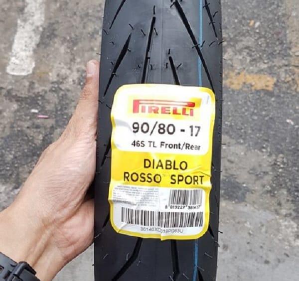 Lốp Pirelli 90/80-17 Diablo Rosso Sport