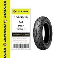 Lốp Dunlop 100/90-10 D307