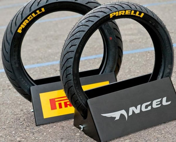 Mẫu lốp Pirelli 120/70-17 Angel City