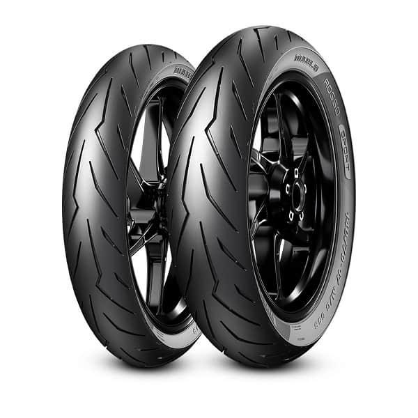 Lốp Pirelli 130/70-12 Diablo Rosso