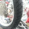 lốp xe máy chống đinh michelin