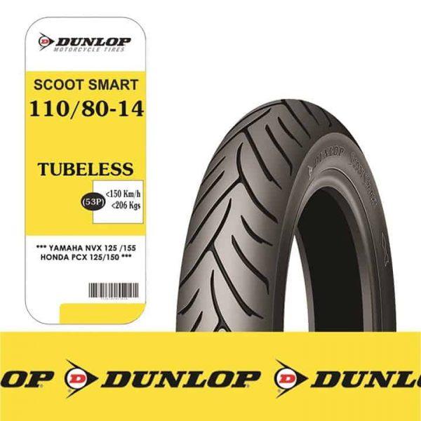 Lốp Dunlop 110/80-14 SC Smart