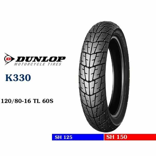Lốp Dunlop 120/80-16 K330