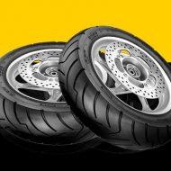Lốp Dunlop 130/70-13 D305