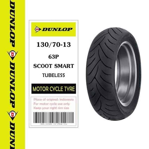 Lốp Dunlop 130/70-13 SC Smart