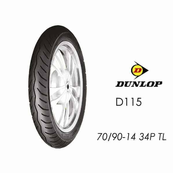 Lốp Dunlop 70/90-14 D115