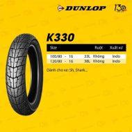 Lốp Dunlop 100/80-16 D307F