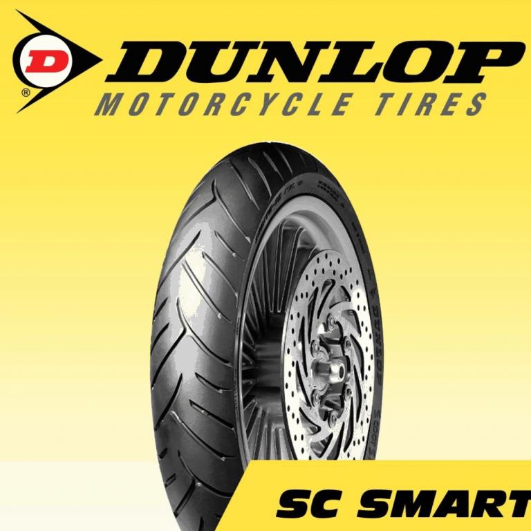 Lốp Dunlop 140/70-14 SC Smart