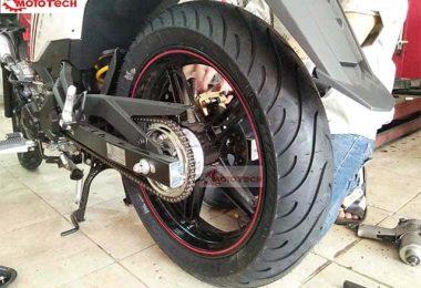 Cách lắp lốp Michelin đúng chiều để xe chạy êm, bám đường